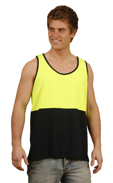 WinningSpirit SW15-High Visibility TrueDry® Mesh Knit Safety Sin